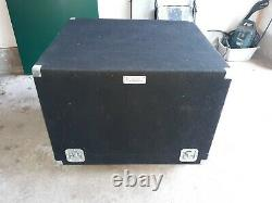 2 Heavy Duty Very Nice Road Cases One is a BEAST and on Casters Both Tray Type