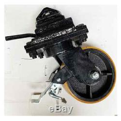 2Ton Load Capacity SCSW8 Brake 8 Inch Extra Heavy Duty Container Caster Wheel