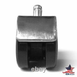 5Pcs Office Chair Caster Wheels Swivel Replacement Heavy Duty Furniture hardware