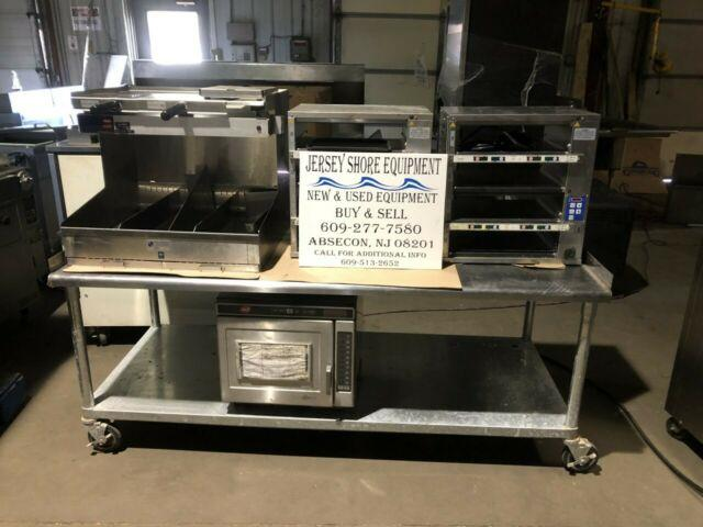 60 X 30 X 30 Equipment Stand Heavy Duty With Lock Casters With Under-shelf Nsf