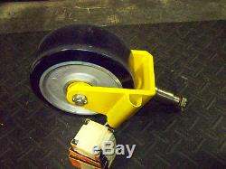 Aerol Mega caster 12 inch x 5 heavy duty with timken bearings new 6000 pound