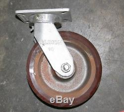 Albion Casters 10 inch Heavy Duty set of four 4 Lot in Los Angeles
