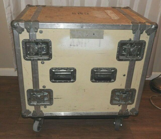 Consolidated Road Case With Wheels Casters Flight Heavy Duty Rack Jan Al 31x21x30