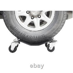 Car Dollies Under Vehicle Tire Skates with Heavy Duty Roller Wheel Casters