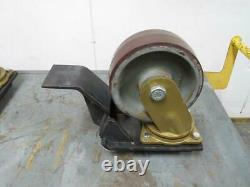 Caster Concepts 104006036 100 LBS Large Heavy Duty Metal Caster T176276