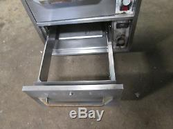 Commercial Heavy Duty S. S. (3) Drawers Bun/chips/food Warmer On Casters 115v