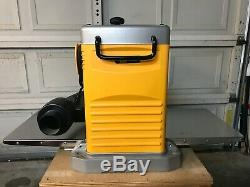 DEWALT DW734 12 1/2 Heavy-Duty Portable Thickness Planer with stand & casters