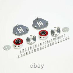 Front Camber Kit -1+3 +Caster +/-0.50 Left+Right BMW 3 Series E46 04-05 RWD/AWD