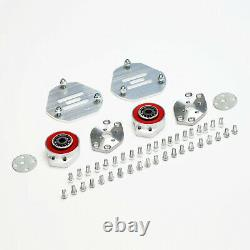 Front Camber Kit -1+3 +Caster +/-0.50 Left+Right BMW 5 Series E60 E61 04-09 RWD