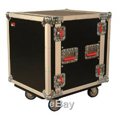 Gator Cases G-TOUR Deep Audio Road Rack with Heavy-Duty Casters and Tour Grade