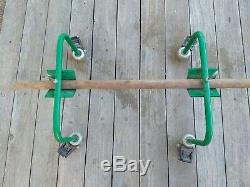 Greenlee HEAVY DUTY Cable/Wire/Spool Dispenser Stand on Locking Casters