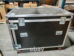 Heavy Duty ATA Case 55 withCasters & Shock Mount