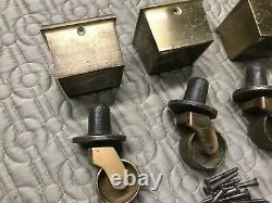 Heavy Duty Piano Casters Solid Brass