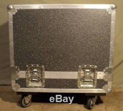 Heavy-Duty R&R Cases ATA Flight Road Case with Handles, Swivel Latches & Casters