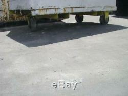 Heavy Duty Steel Industrial Scrap Bin Cart Tote Container with Casters