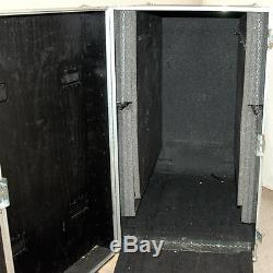 Keal Case Heavy Duty Storage/Shipping Travel Case 47Lx30Wx58H With Casters/Ramp