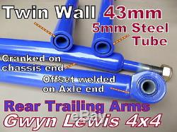 Land Rover Defender Cranked Trailing Arms Rear Castor Correction NTC8328