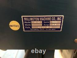 Large Millington Silk Screening Vacuum Table- Folding with Heavy Duty Casters