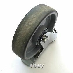 Lot of 4 Bosch Rexroth 3842524499 Clean Room Locking Heavy-Duty Casters, 125mm