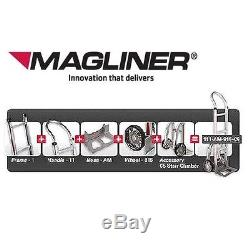 Magliner Heavy Duty U-Boat (2-Handles) BDHA162-C with 6 Casters
