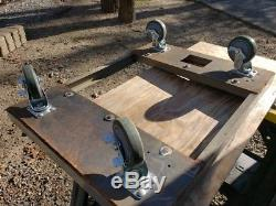 Metal Cabinet on Casters for Garage Tools, Machinist, Heavy Duty 27 x 36 x 59