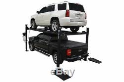 New 8,000 lbs. XLT 4-Post Truck Auto Lift 15 Longer 10 Taller withCasters