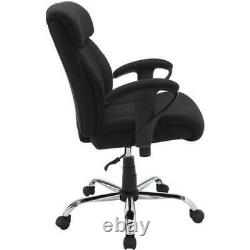 Office Chair Furniture Adjustable Seat Height Heavy Duty Rolling Caster Wheels