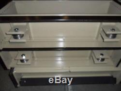 One Winsted Shelving Storage Systems Disassembled, Rails/Casters, Heavy duty