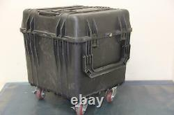 PELICAN 0340 18 X 18 X 18 Heavy Duty Equipment Case with Casters