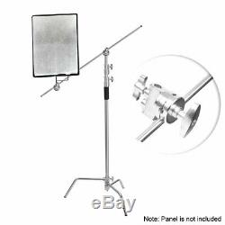 Photography 10ft Heavy Duty Stainless Steel C StandCentury Stand with Caster Set