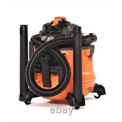 Portable Vacuum Wet Dry Vac 14 Gallon 6.0-Peak HP NXT with Auto Detail Kit Clean