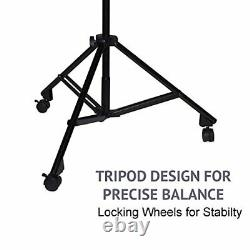 Professional Microphone Stand Heavy Duty 90 Studio with Caster Wheels