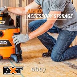 RIDGID 14 Gal. 6.0-Peak HP Wet Dry Vac with Auto Detail Kit for Home, Garage NEW