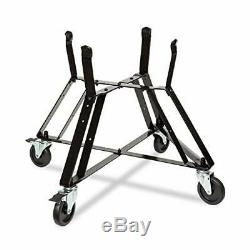 Rolling Cart Nest For XLarge Big Green Egg With Heavy Duty Locking Caster Steel