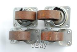 Set of 4 Heavy-Duty Large Metal Casters by WIL-MAT Charlotte