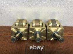 Solid Brass Grand Piano Heavy Duty Casters Beautiful