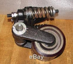 Super Heavy Duty Load Roller Assembly Shock Absorbing with Cast Iron Frame