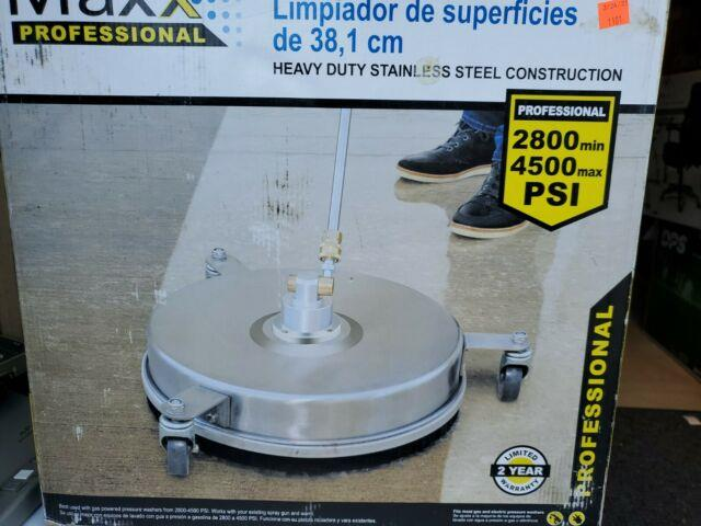 Surface Maxx Pro 15 In. 4500 Psi Heavy Duty Stainless Steel Surface Cleaner Am1