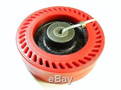 TWO RWM 10 X 3 HEAVY DUTY CASTER OMEGA WHEELS With TAPERED ROLLER BEARING NEW