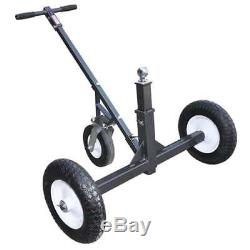 Tow Tuff Adjustable Steel 1000 lb Heavy Duty Trailer Dolly with Caster(Incomplete)