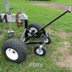 Tow Tuff Adjustable Steel 1000 lb Heavy Duty Trailer Dolly with Caster (Used)