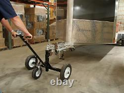 Tow Tuff Tmd-1000C Adjustable Steel 1000 Lb Heavy Duty Trailer Dolly With Caster