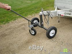 Trailer Dolly Adjustable Heavy Duty With Wheel Caster Swiveling Tool For ATV