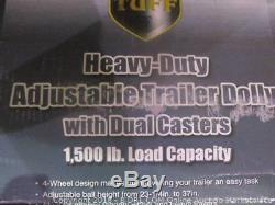 Trailer Dolly Heavy Duty With Duel Caster 1500 Lb