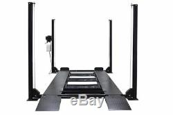 Triumph Classic 8,000 lbs. 4-Post Auto Lift wRamps Jack Tray 3 Drip Tray Casters