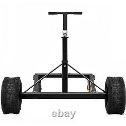 VEVOR Heavy Duty & Adjustable Trailer Dolly 1500lb Manual Dolly withCasters