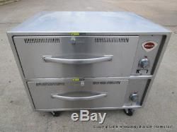 Wells RW-2HD Freestanding Heavy Duty Food Warming Drawer on casters, barely used